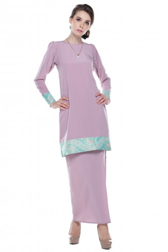 Safya Songket in Dusty Pink